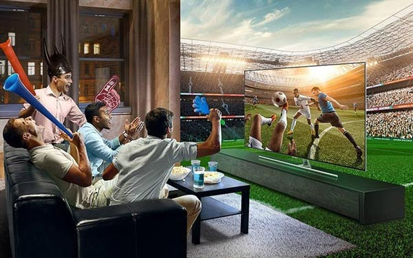 Football mode tivi Toshiba